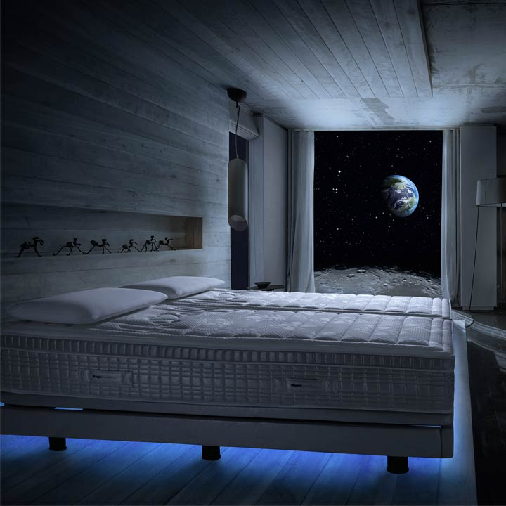 Come and sleep in the future